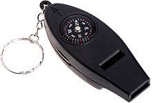 JENOR 4 In1 Outdoor Survival Whistle Compass