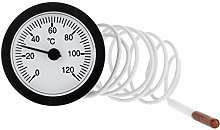 JENOR Dial Thermometer Capillary Temperature Gauge