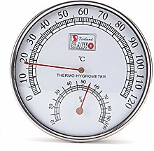 JENOR Thermometer Metal Case Steam Room