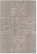 Jerbourg Rug - 120 x 180 cm / Neutral / Wool