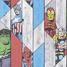 Jeremy 10m x 53cm Wallpaper Roll Marvel