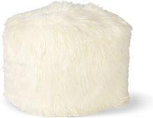 Jeremy Pouffe Fjørde & Co Upholstery Colour: Ivory