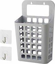 JERKKY Clothes Basket, Suction Suspension Basket