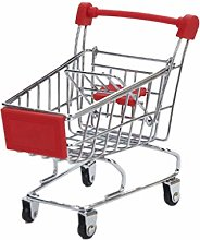 JERKKY Mini Shopping Cart, Mini Supermarket Hand