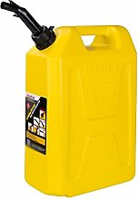 Jerry Can Gas Fuel Oil Tank 5L 10L 20L Plastic