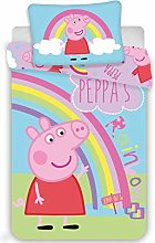 Jerry Fabrics PEP016 Peppa Pig Baby Bedding 100 x