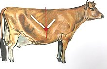 Jersey Cow Clock - OF21