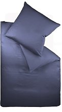 Jersey Duvet Cover Set Fleuresse Colour: Dark Blue