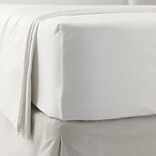 Jersey Fitted Sheet, White, Moses Basket