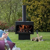 Jersey XL garden fireplace in black