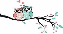 Jessicadaphne 2 Cute Owls Waterproof Polyester