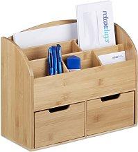 Jessie 2 Drawer Desk Organiser Natur Pur