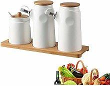 JesUsAvila Oil & Vinegar Bottle Dispenser Spice