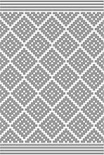 Jet-line Outdoor Carpet Rug 'Austin' Grey,