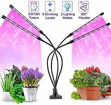 JEVDES LED Plant Light, Newest 40W Grow Light for