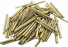 Jewellers Tools 100 x Clock taper pins BRASS