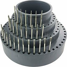 Jewellers Tools 114 Hole Revolving Burr Stand :