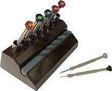Jewellers Tools 7 Screwdriver Storage Stand