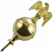 Jewellers Tools BRASS BALL & EAGLE FINIAL