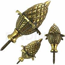 Jewellers Tools Large Brass ACORN ball spire
