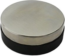 Jewellers Tools ROUND STEEL & RUBBER DAPPING BLOCK