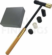 Jewellers Tools SOLID STEEL Doming bench Block