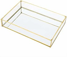 Jewellery Organiser Jewelry Tray Vintage Glass for