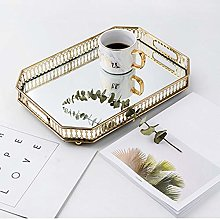 Jewellery Tray Cosmetic Tray Electroplating Glass