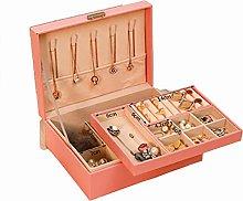 Jewelry Box, Double Drawer Type Jewelry Storage