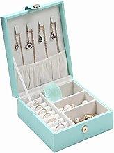 Jewelry Box, PU Leather Jewelry Storage Box, Used