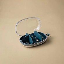 Jewelry holder, jewelery storage box, Dark blue