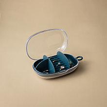 Jewelry Shelf, Jewelry Storage Box, Blue Travel