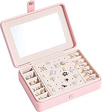 Jewelry Storage Box is Portable, Simple,