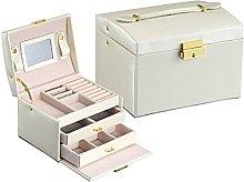 Jewelry Storage Box, Three-layer Drawer Dustproof
