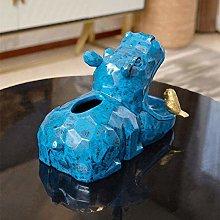 JF-XUAN Home Decoration Hippopotamus Storage Box