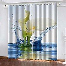 JFAFJ Curtains White & Orchid Eyelet Kids Curtain