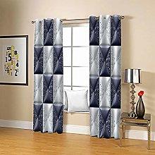 JFAFJ CurtainsRetro & Plaid Eyelet Kids Curtain