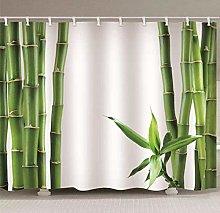 JFAFJ Shower Curtain with Hook Waterproof Anti