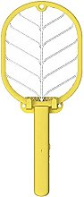 JFFFFWI 2 In 1 Electric Fly Swatter Electric