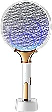 JFFFFWI 2 In 1 LED Electric Mosquito Swatter,