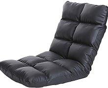 JFFFFWI Lazy Leather Sofa Single, Single Floor,