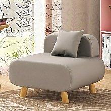 JFFFFWI Lazy sofa, armchair, small single sofa,