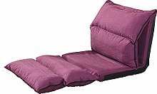 JFFFFWI Lazy sofa, creative simple folding sofa,