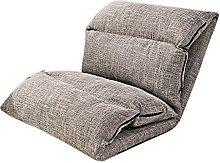 JFFFFWI Lazy sofa, simple folding bed chair, small