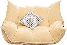 JFFFFWI Lazy Sofa Simple Living Room Foldable