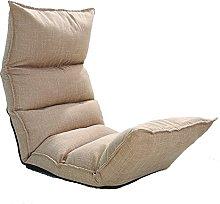 JFFFFWI Lazy Sofas Sofa, Small Foldable Sofa