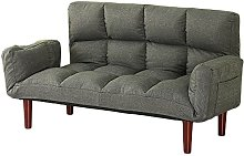 JFFFFWI Small Sofa Bed Double Cloth Double