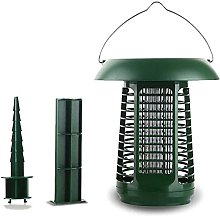 JFFFFWI Solar Mosquito Killer Lamp, Multifunction