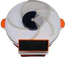 JFFFFWI Solar Mosquito Killer Lamp, Solar