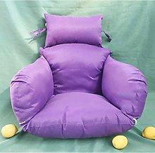 JFFFFWI Swing Chair Cushion,thick Nest Single